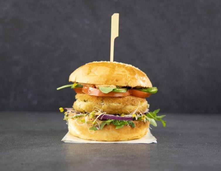 Burger Vege z fasoli